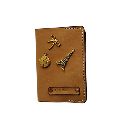 passport cover leather