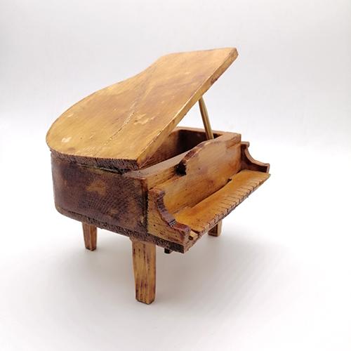 Wood decoration piano