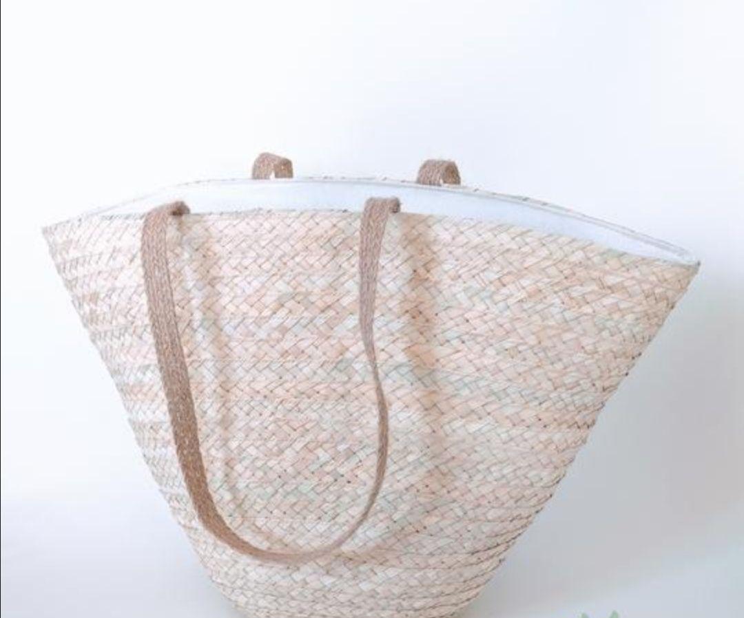 Plain beach bag