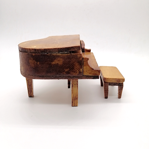 Wood decoration piano
