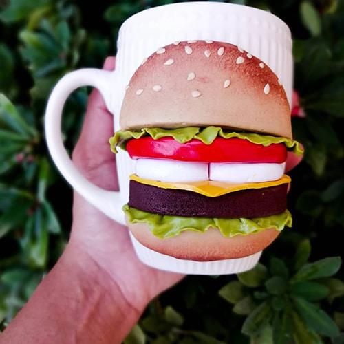 Hum Burger mug